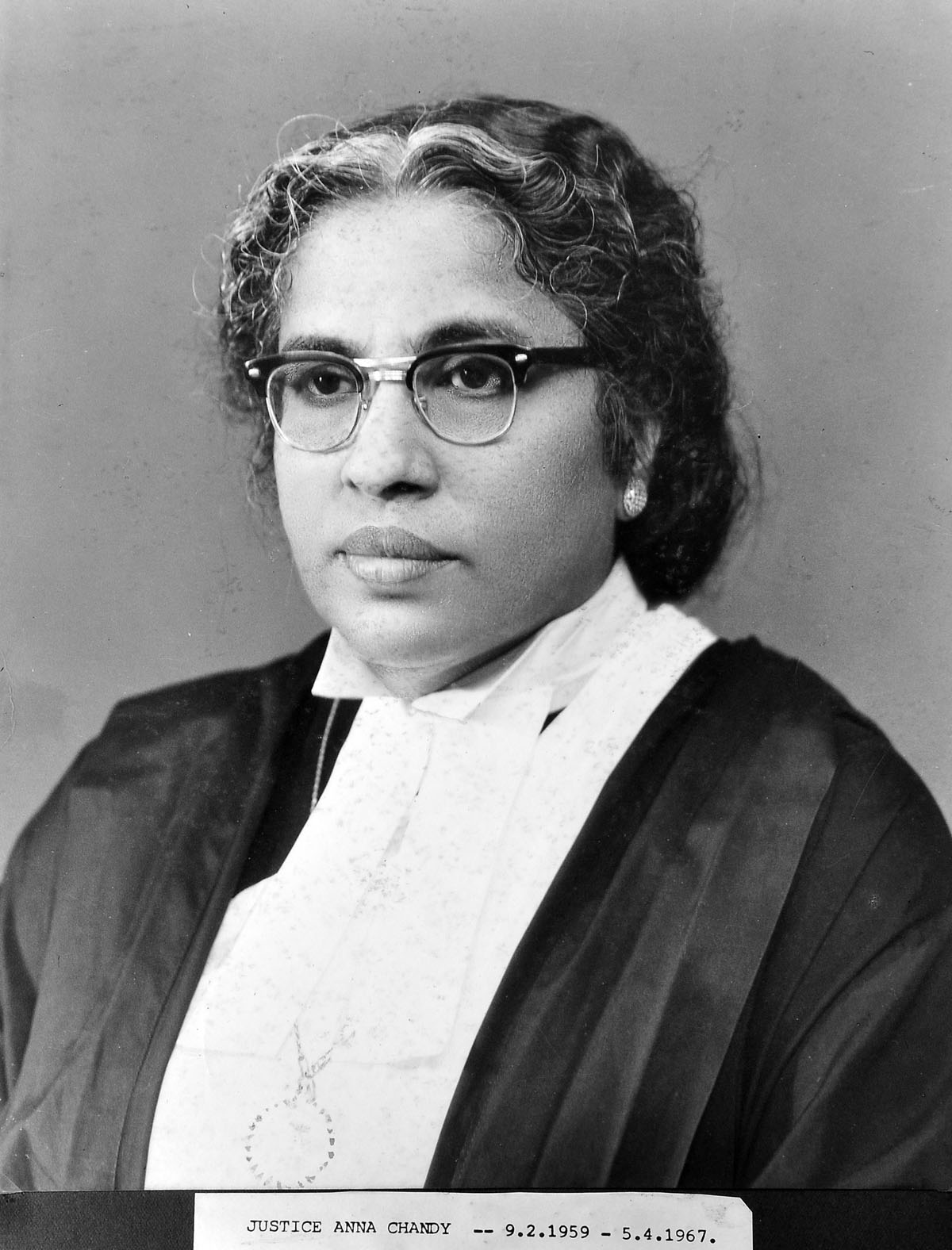 Justice Anna Chandy